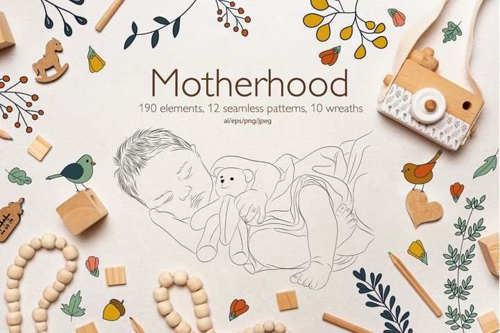 MotherHood vector collection