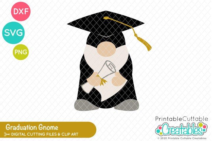 Graduation Gnome SVG