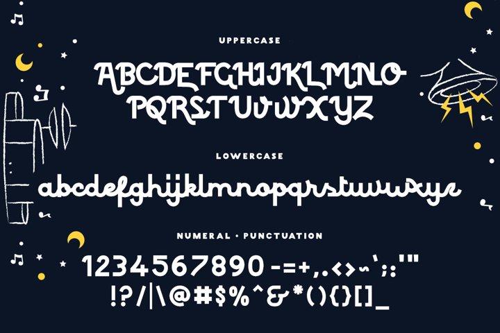 Colorado - Retro Typeface example 3