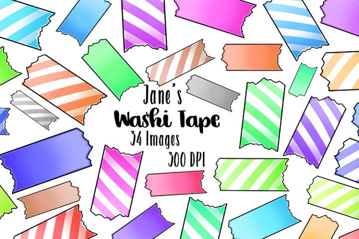 Kawaii Washi Tape Clipart