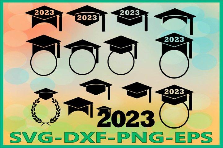 Graduation 2023 SVG, Graduation Hat, Graduation Caps