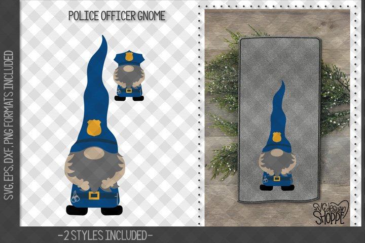 Gnome, Gnomes, Police Officer, Fire Fighter, Nurse, SVG,