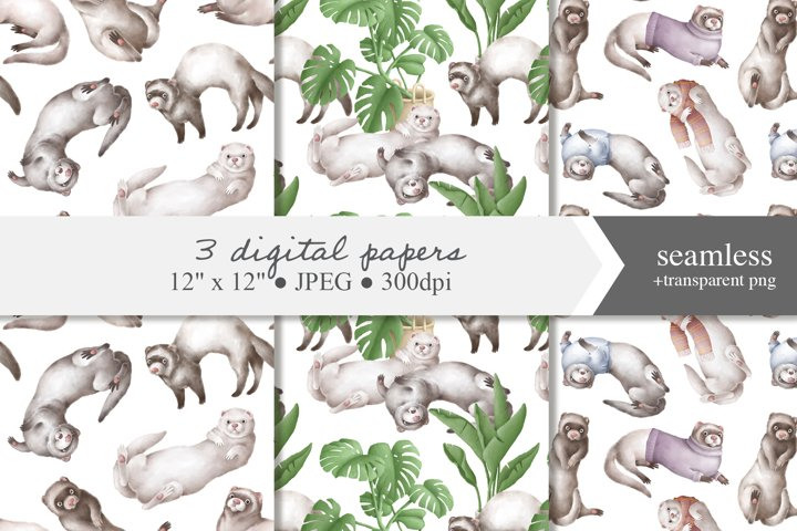 Digital papers with ferrets