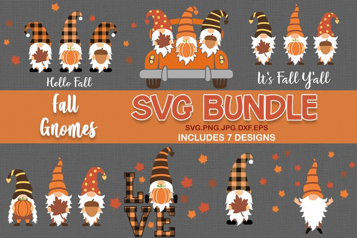 Fall gnomes svg BUNDLE, gnomes svg, gnome svg, pumpkin svg