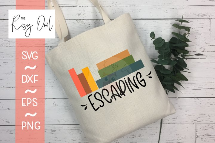 Escaping | Books SVG PNG DXF EPS