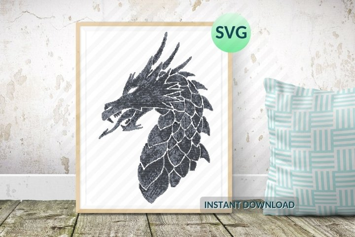 Black Dragon SVG