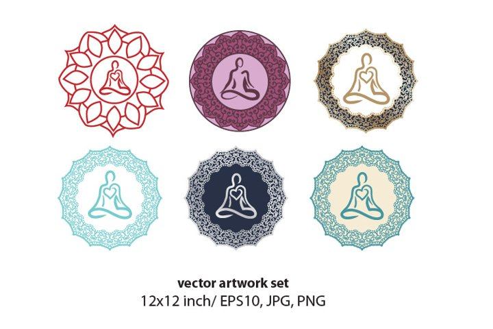 Mandala - VECTOR ARTWORK SET