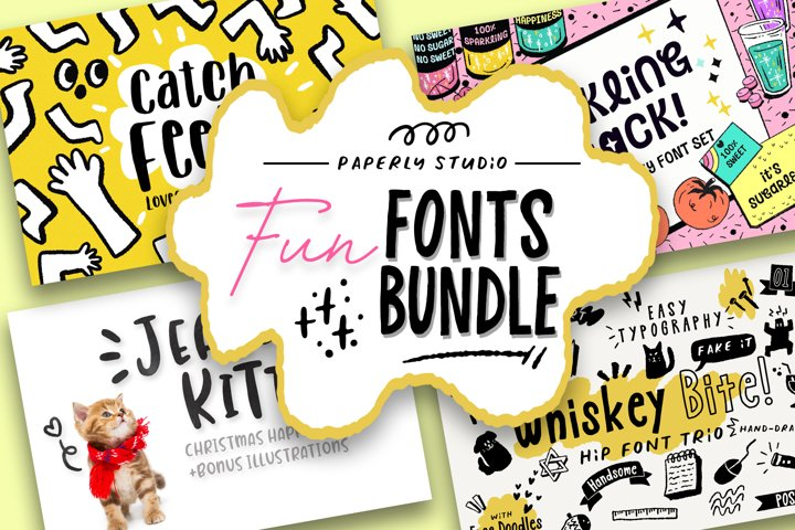 Fun Font Mini Bundle & Extras