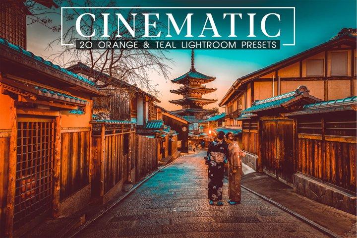 20 Cinematic Orange and Teal LR Presets & Camera Raw