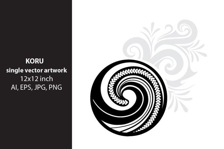 Koru, Maori symbol