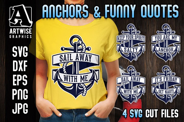 Anchors and Funny Nautical Quotes