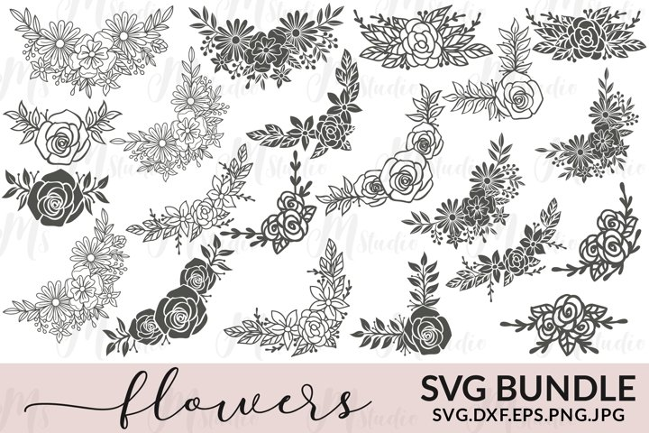 Flowers SVG Bundle