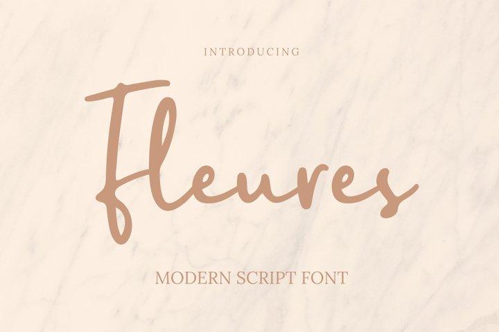 Fleures Font