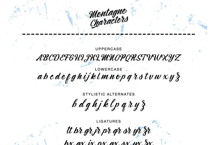 Montagne Typeface - Free Font of The Week Design2