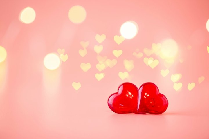 Photo of Love concept for valentines day.