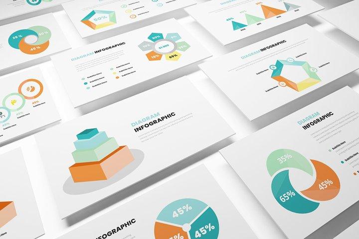 Diagram Infographic Google Slides Template