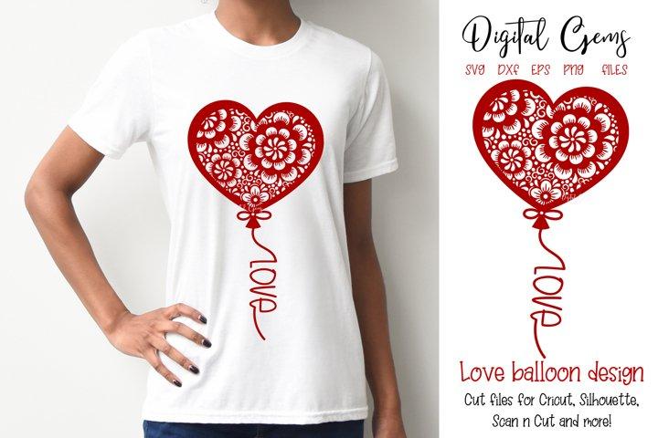 Balloon, Valentines / love design