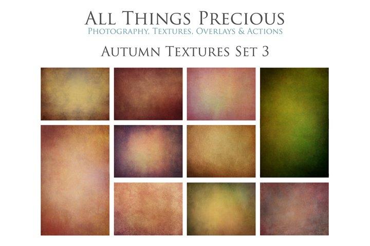 10 Fine Art AUTUMN Textures SET 3