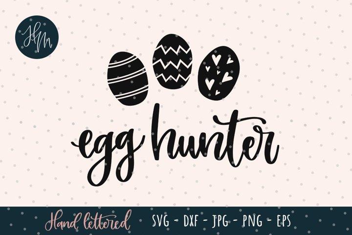 Egg hunter SVG Easter cut file