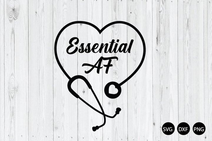 Essential AF SVG, Nurse SVG
