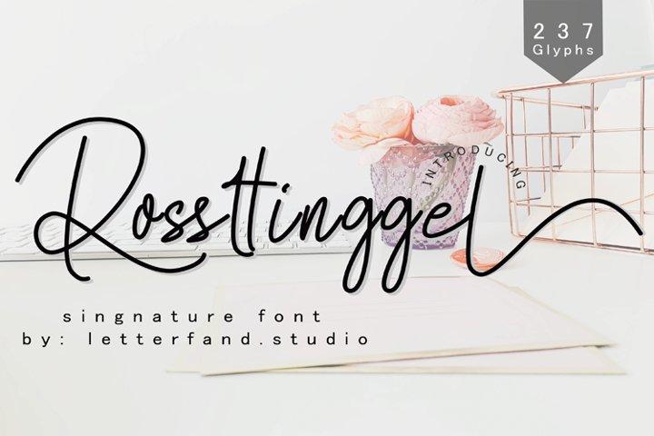 Rossttingel
