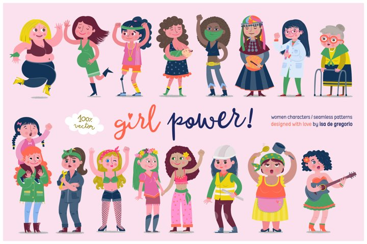 Girl Power! Women Characters