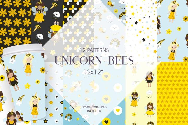 Unicorn bees