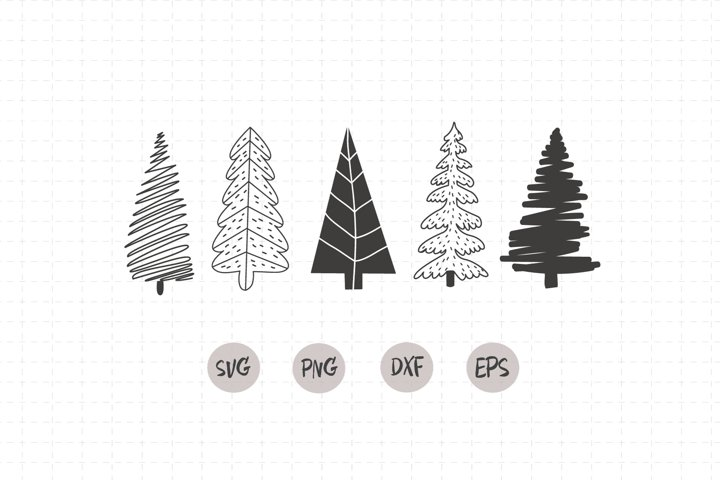 Christmas Tree SVG / primitive tree svg