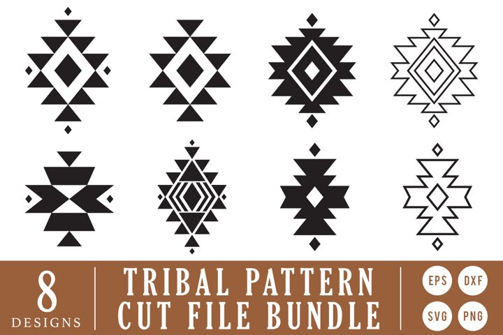 Tribe Western Pattern SVG Cut File for Cricut
