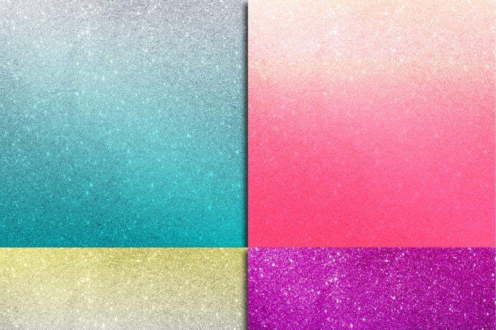 Glitter Ombre Digital Paper - Free Design of The Week Design1