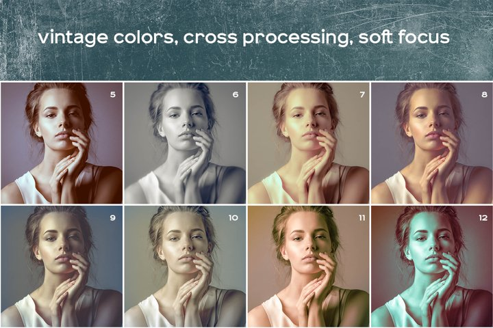Vintage Photos Lightroom Presets Set example 2