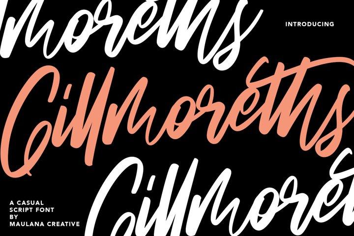 Gillmoreths Casual Script Font