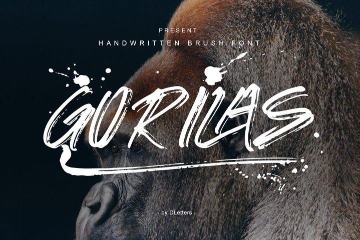 GORILAS Hand Brush