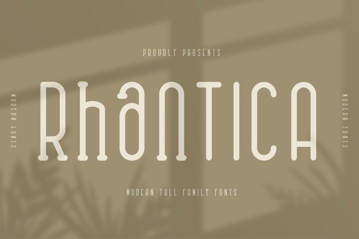 Rhantica Family Fonts