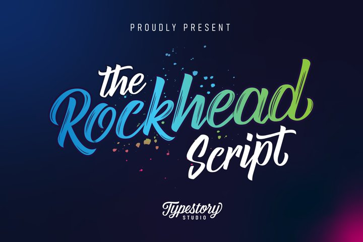 Rockhead script - Free Font of The Week Font