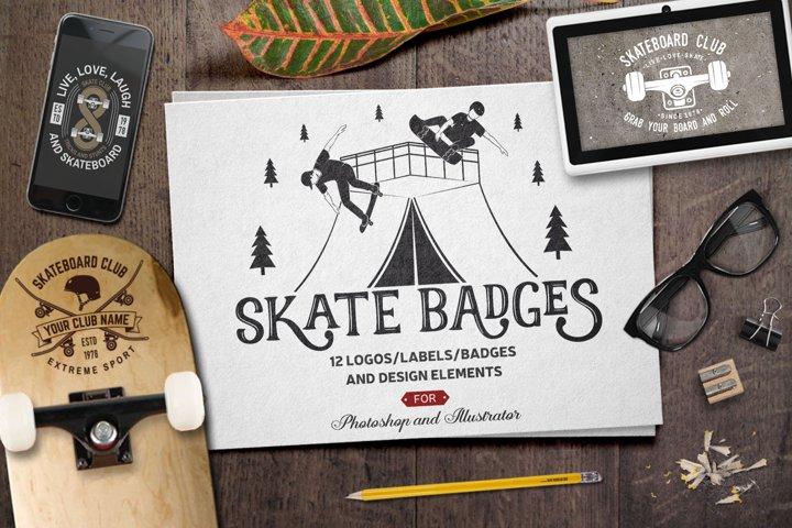 Skate Badges