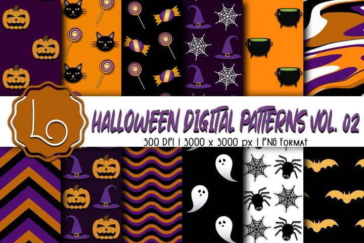 Halloween Digital Patterns Vol. 02