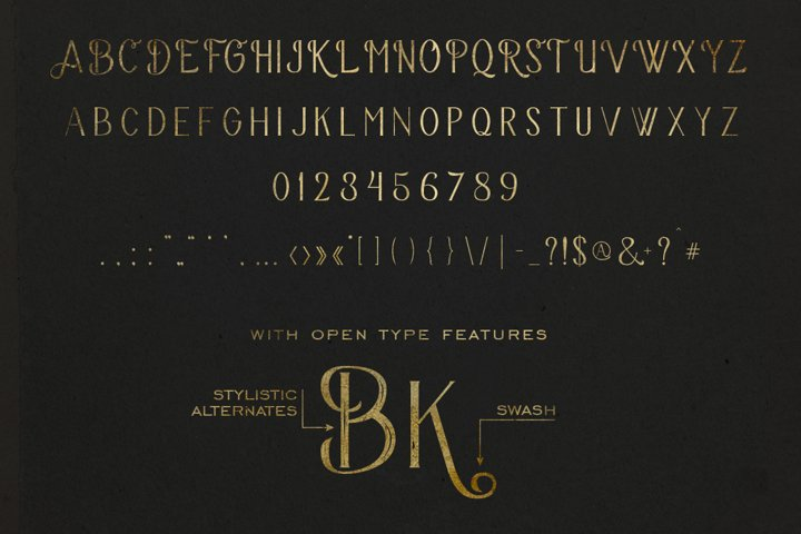 The Bravery Typeface - Free Font of The Week Design3