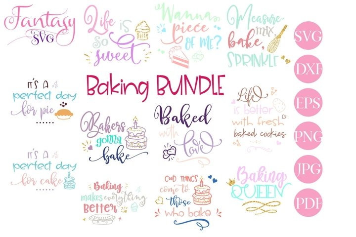 Baking BUNDLE - SVG Cut File