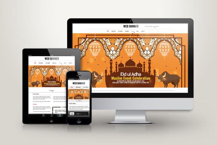 Eid Ul Azha Celebration Web Banner