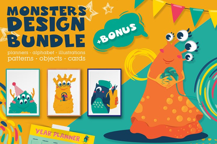 Monsters Design Bundle