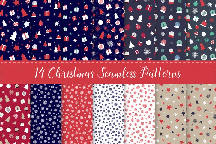 Christmas Seamless Repeat Patterns