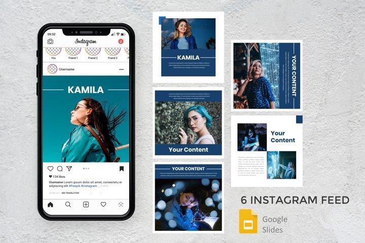Instagram Feed - Kamila