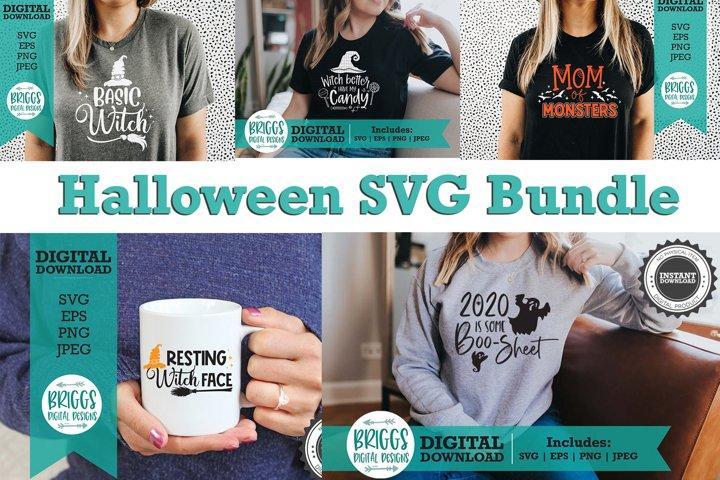 Halloween SVG Bundle | Funny Cut Files |Halloween Shirt
