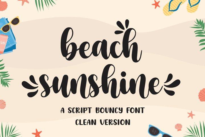 Beach Sunshine - Clean Version