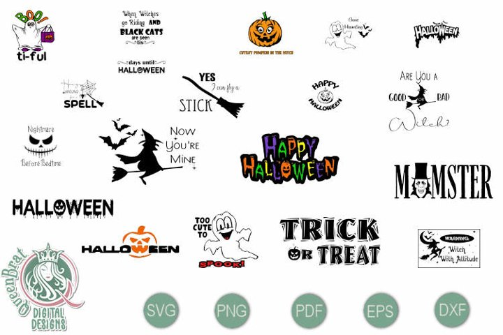Halloween SVGs Bundle 1