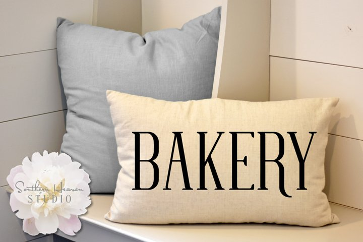 BAKERY - SVG, PNG, DXF and EPS
