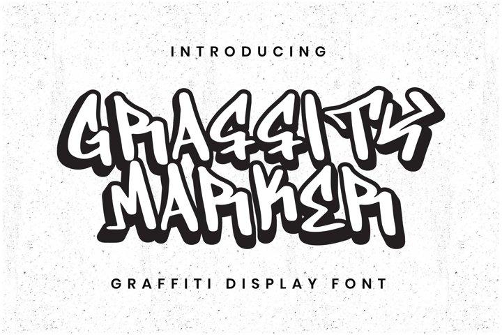 Graffity Marker Font