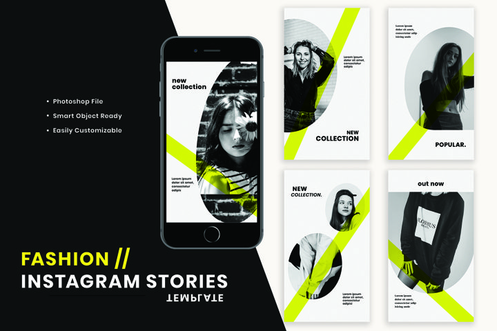 Fashion Instagram Stories Template