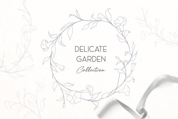 Delicate Botanic Garden